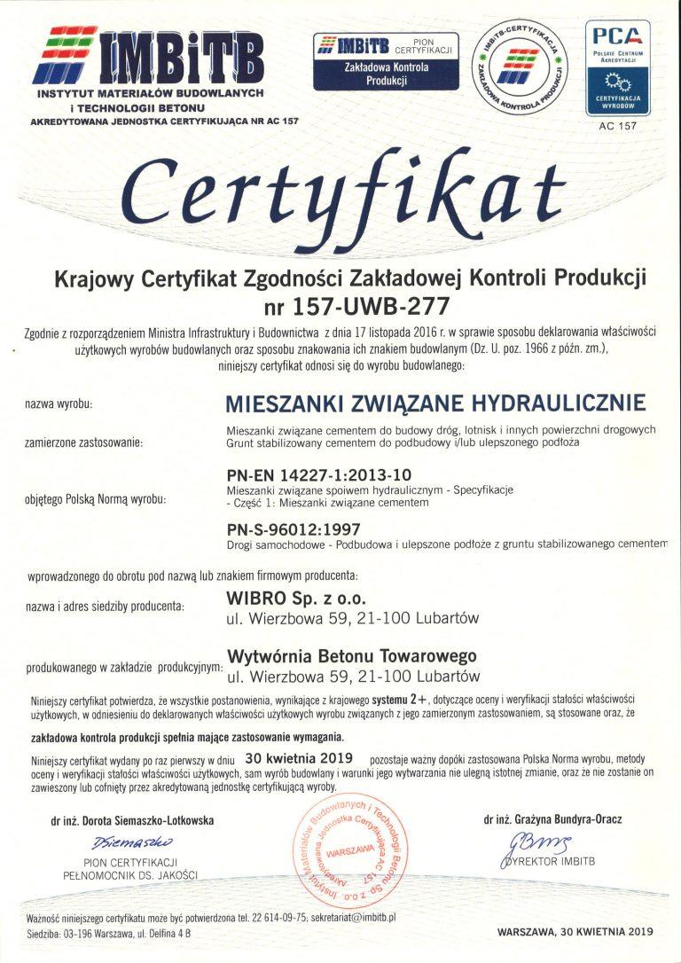 Certyfikat-157-UWB-277-M-Wierzbowa-wyd-1-2019-kwiecień