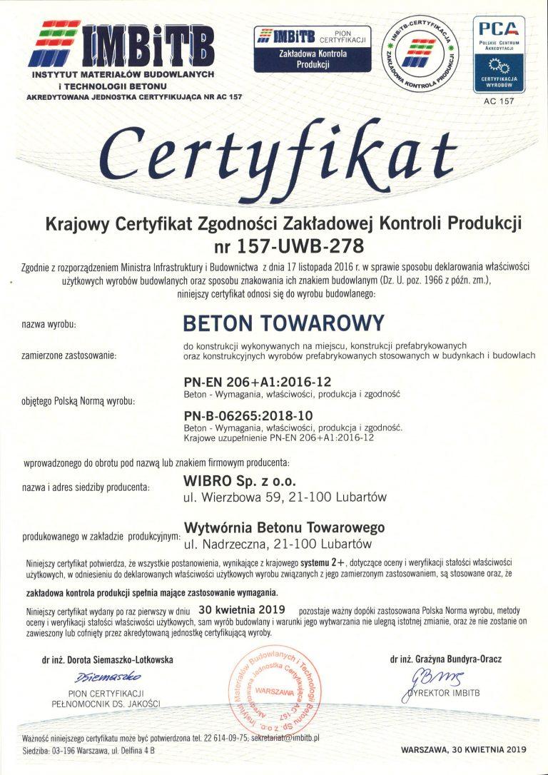 Certyfikat-157-UWB-278-B-Nadrzeczna-wyd-1-2019-kwiecień