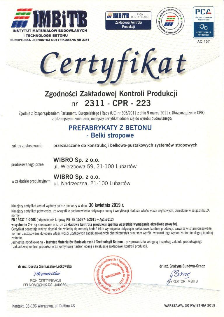 Certyfikat-2311-CPR-223-wyd-1-2019-kwiecień-belki